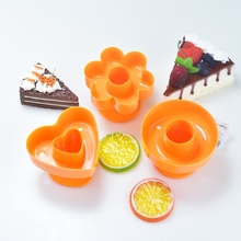 1pcs practical Tool DIY Donuts Maker Mold Food Grade Plastic Doughnuts Maker Cutter Fondant Cake Bread Desserts Bakery Mould large size metal donut maker mold fondant cake bread desserts bakery mould cake decorating tools nonstick bak pan