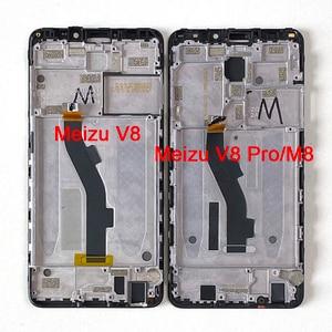 "Image 5 - 5.7 ""オリジナルm & セン魅V8プログローバルバージョン4ギガバイト64ギガバイト液晶画面表示枠 + タッチパネルデジタイザ魅M8 M813H"