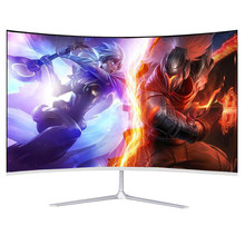 Ips 32 Polegada lcd curvado tela monitor gamer 1920 × 1080p hd gaming display monitor para desktop hdmi-compatível monitor pc 24""