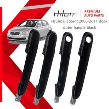 Door Outer Handle Black For Hyundai Accent 2006-2011 82650-1E000 82660-1E000 83650-1E000 83660-1E000