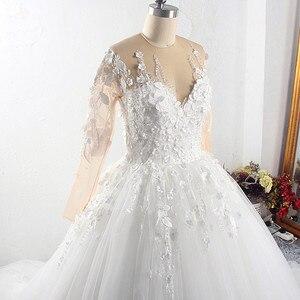 Image 5 - RSW1527 בציר סומק תחרה חתונת שמלות מתוקה קייפ שרוולים Appliqued טול Boho חוף בתוספת גודל סקסי Vestios דה Novia