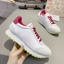2020Fashion Real Leather Women Running Shoes Mixed Colors Outdoor Walking Ladies Sport Shoes Luxury Brand Casual Lovers Sneakers 2017 merrto lovers walking shoes breathable outdoor shoes suede leather for lovers free shipping mt18358 mt18357