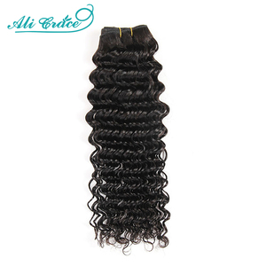 ALI GRACE Hair Brazilian Deep Wave Bundles 100% Remy Human Hair Extensions 3 and 4 Bundles Deal Deep Wave Human Hair Bundles(China)