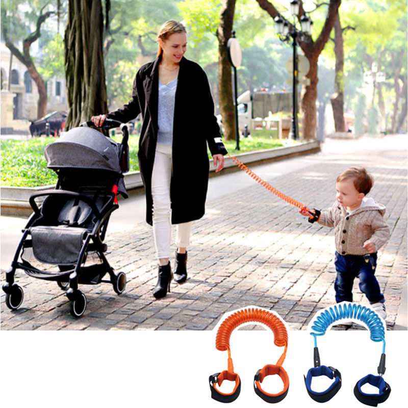 2.5M Anti Lost Wrist For Child Safety Outdoor Link Toddler Leash Harness For Baby Strap Rope Hand Band Anti-lost Wristband