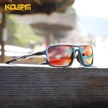 Мужские небьющиеся солнцезащитные очки kdeam поляризационные