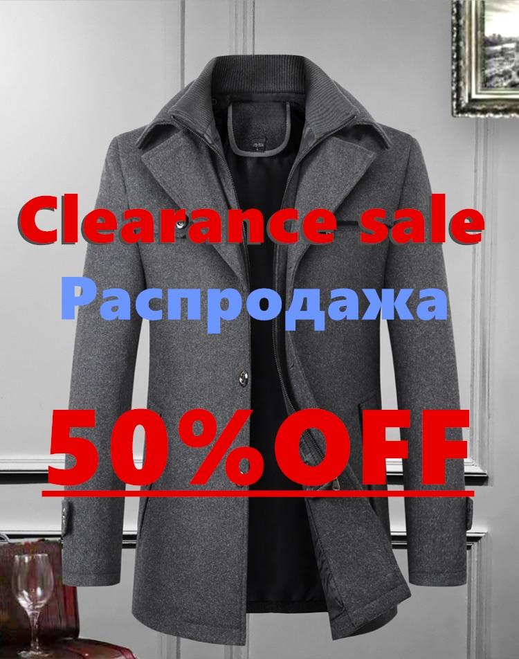 Warm Coat Men's Woolen Jacket / Autumn And Winter/ Jacket Men/Leisure Business Jacket