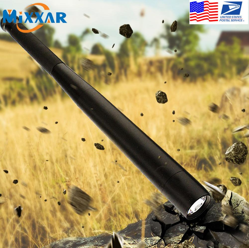 Dropshipping Self Defense LED Flashlight T6 High Brightness Handheld Torch Outdoor Survival Security Tool for Emergency|Flashlights & Torches|   - AliExpress