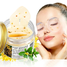 BIOAQUA Osmanthus mask for eyes women Collagen whey care sleep patches health mascaras to To the eye bag moisturizing