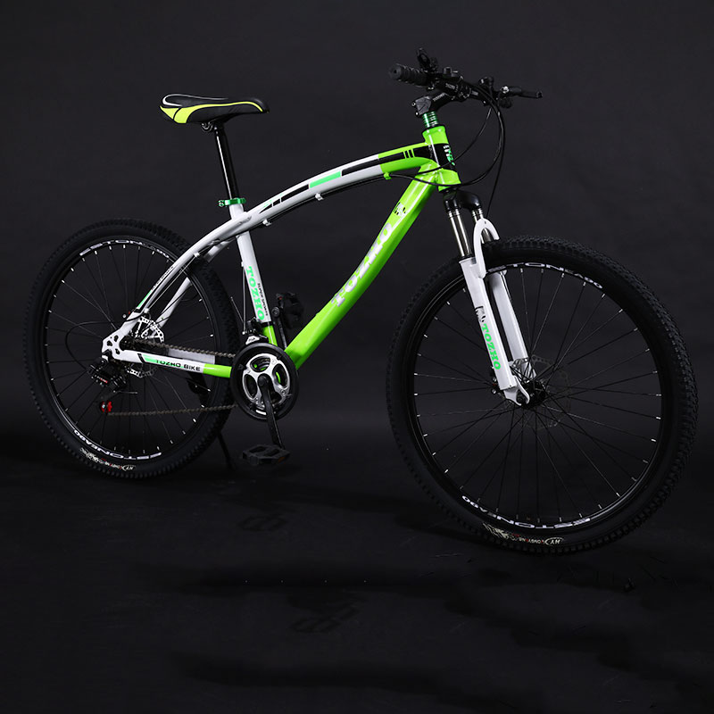 Mountain Bike Variable Speed Double Disc Brakes Shock Road Bicycle Man And Women Adult Students Cool 2019