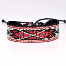 Particular Rope bracelets Original handmade jewelry Braided bracelet Geometric Vintage Men Women Bracelet Bangle Wristband