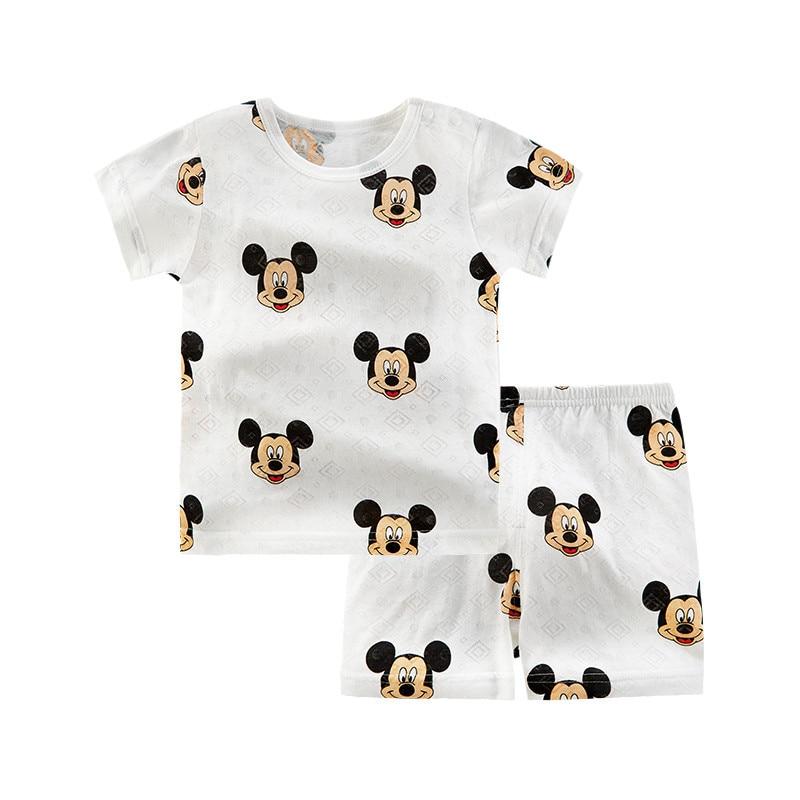 Unicorn Pajamas Children Kids Pajamas For Girls Sleepwear Kids Christmas Pajama Sets Animal Pyjamas Kids  Short Sleeve Summer