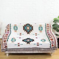 Navajo cobertor decoração da casa aztec navajo toalha esteira do sofá de algodão cobertor lance cadeira cama tapetes parede pendurado