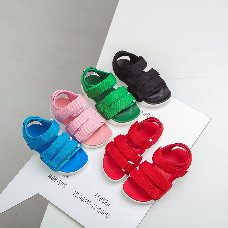 Baby Comfortable Sandals 2020 Summer New Boy Girls Beach Shoes Kids Casual Sandals Children Fashion Sport Sandals Size 21-37