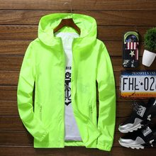Plus Size 6XL 7XL New Spring Summer Bomber Jacket Men Women Casual Solid Windbreaker Zipper Thin Hooded Coat Outwear Male Jacket(China)