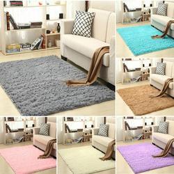 Tapis Shaggy pour salon maison sol en peluche Alfombra tapis moelleux chambre d'enfants fausse fourrure tapis salon tapis soyeux