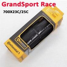 Contin grandsport corrida 700x23c 25c dobra profissional pneu de bicicleta para corrida montanha engrenagem fixa bicicleta diy peças de reposição acessório