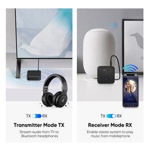 Image 2 - UGREEN Bluetooth 5.0 verici alıcı APTX HD 2 in 1 kablosuz ses adaptörü dijital optik TOSLINK için 3.5mm AUX jakı TV PC