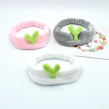 1PCS Cute Cactus Hair Holder Hairbands Fleece Bow Animal Ears Headband For Women Girls Turban Fashion Hair Accessories