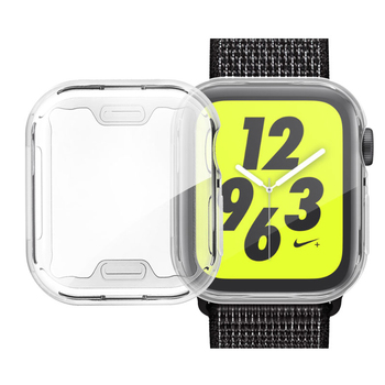 Cover Case For Apple Watch 5 4 3 band 44mm 40mm 42mm 38mm iwatch Screen Protector Silicone Protective Protection Screenprotector - discount item  49% OFF Watches Accessories