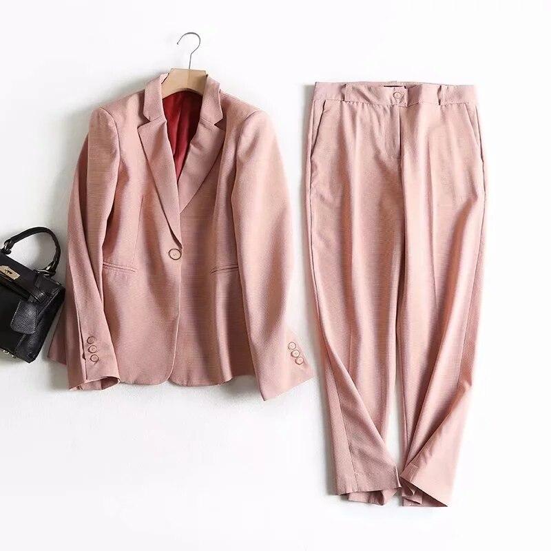 winter blazer feminino england office lady casual pink plaid blazer women blazer mujer 2019 women blazers and jackets