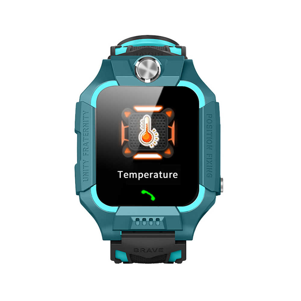 Z6 Temperature Measurement Children Smart Watch Waterproof 2G SIM Card GPS Tracker Camera Phone Watch SOS Anti-lost Watches Kid