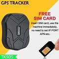 Автомобильный GPS-трекер TK905 с 5000 мАч, 90 дней в режиме ожидания, 2G, GPS-трекер для автомобильного локатора, водонепроницаемый магнитный геозонат...
