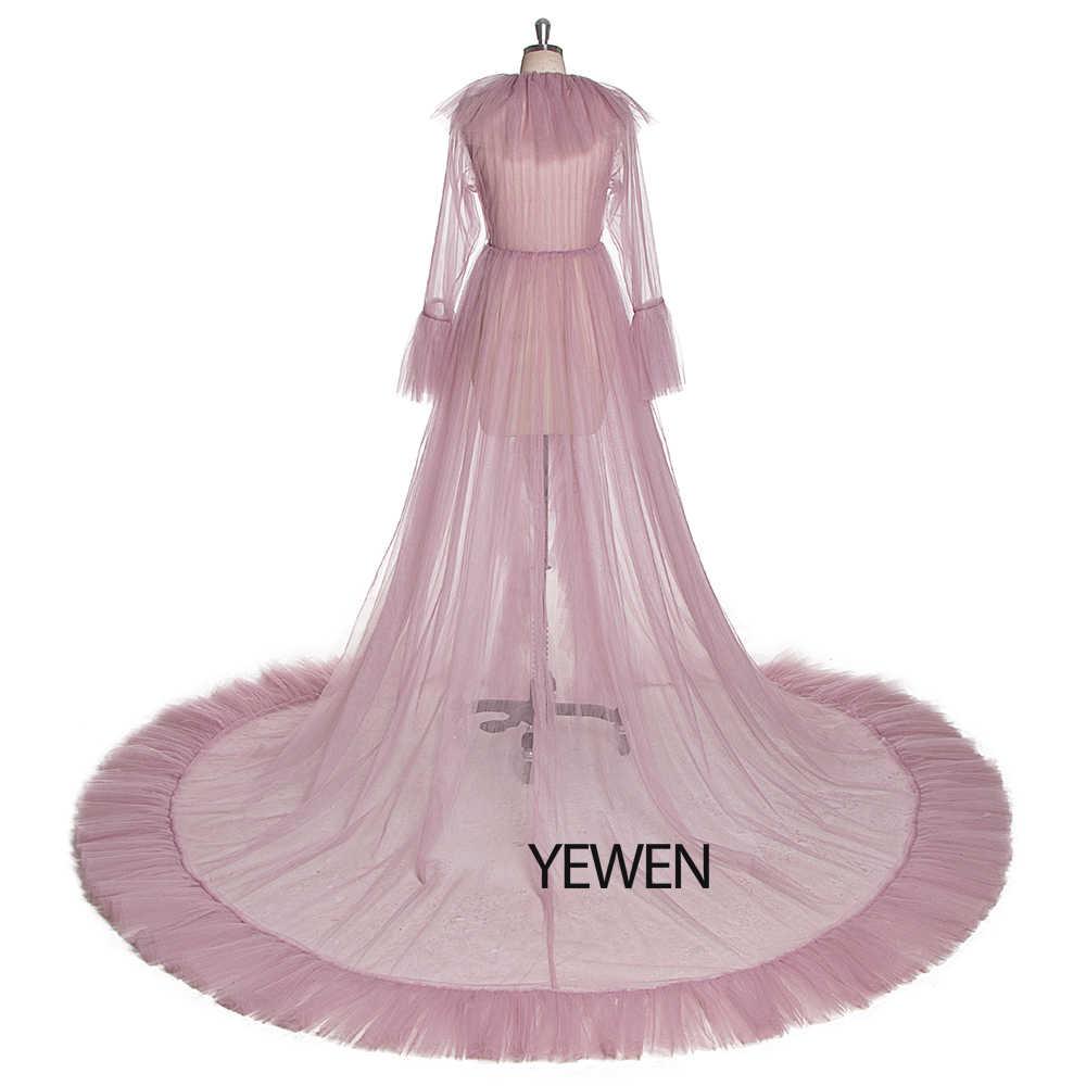 섹스 아이보리 여성 잠옷 2020 웨딩 드레스 웨딩 나이트 드레스 사용자 정의 플러스 사이즈 신부 드레스 Photosession