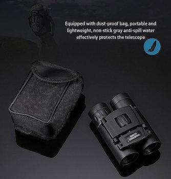 300X25 Professional Binoculars Powerful 50000M Broadband Green Film Portable Telescope HD Quality BAK4 Prism Monocular Camping 3