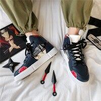 נעלי היפ הופ מאויירות בסגנון אנימה יפנית