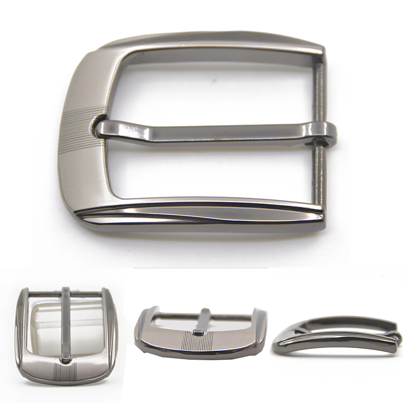 35mm Metal Pin Buckle Men Waistband Buckles Belt DIY Leather Craft Buckle Black Silver Bronze Men's Buckle Accessories Wholesale