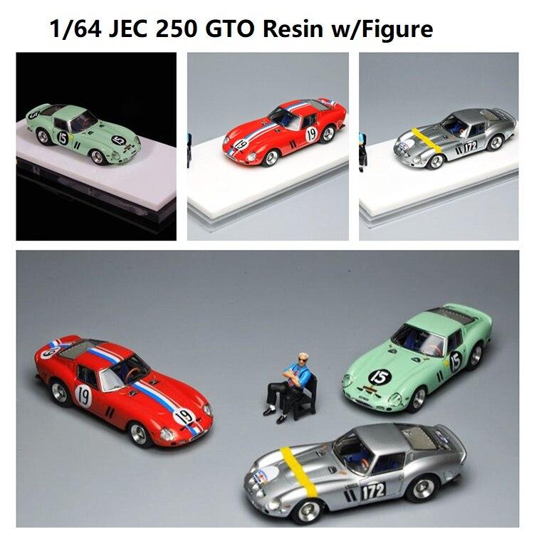 JEC 1:64 de 250 GTO de resina con figura de modelo de coche Cubo de basura para coche, cubo de basura de coche, Papelera para el hogar, papelera, cesta para el coche, accesorios para el coche, accesorios para el coche