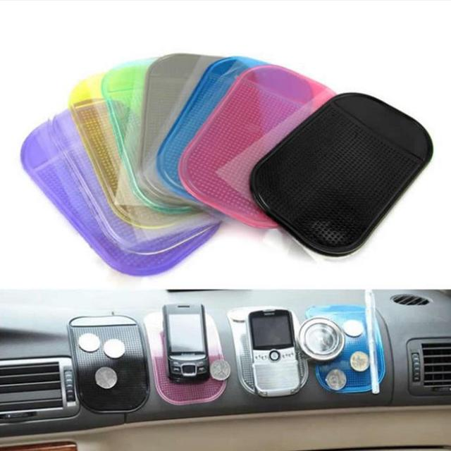 1 Pcs Anti-Slip Mat Automobiles Interior Accessories for Mobile Phone mp3mp4 Pad GPS Anti Slip Car Sticky Anti-Slip Mat