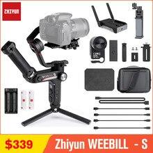 Zhiyun – Weebill S stabilisateur à cardan 3 axes portatif, pour Sony A7M3 Nikon D850 Z7 Panasonic LUMIX Canon DSLR et appareil photo sans miroir