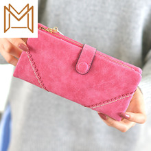 Wallet 2019 Woman Long Lace Matting Hasp Zipper More Function Capacity Wallet Wallet Hand
