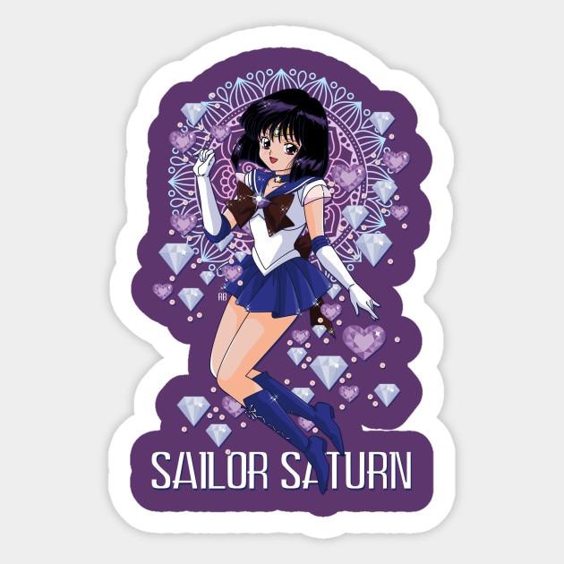 Sailor Moon Sticker Saturn