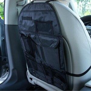 Image 3 - Universal à prova dwaterproof água assento de carro volta organizador saco armazenamento multi bolso pendurado bolsa sortido 58cm x 38cm acessórios automóveis preto