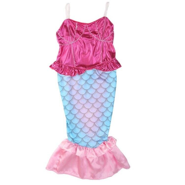 Children Mermaid Swimsuit Mermaid Tail Tour Bathing Suit Mermaid Stage Halloween Performance Costume