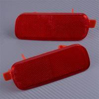 מחזיר אור DWCX 2pcs 33,505-S9A-003 הרכב האחורי Bumper מחזיר אור מנורת פלסטיק 33,555-S9A-003 Fit עבור הונדה CRV CRV 2002 2003 2004 (1)