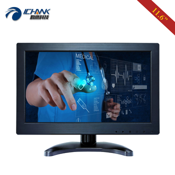 "ZB116JC-253D/11.6 12"" inch 1920x1080 IPS Built-in Speaker Driver Free Multi-point Capacitive Touch LCD Screen PC Display Monitor"