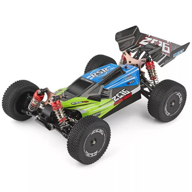 WLtoys 1/14 144001 RTR 2.4GHz RC Car Scale Drift Racing Car 4WD Metal Chassis Hydraulic Shock Absober Off-Road Vehicle Toy 2