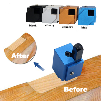 Quick Cutting  Wood Carving Corner Chisel Square Hinge Recesses Mortising Right Angle Carving Chisel for Woodworking Tool Carvin pneumatic jet chisel jex 24