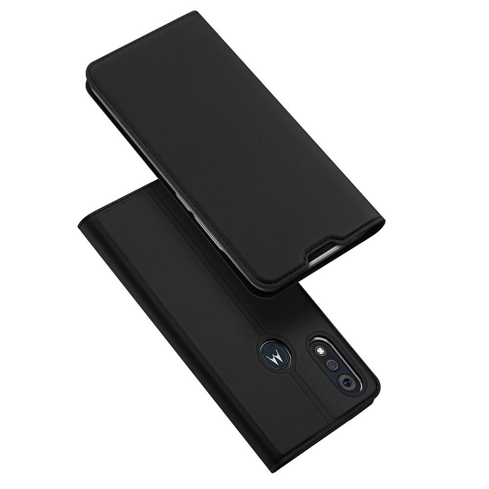 For MOTO E6s 2020 Phone Case Cover Fashion PU Leather Anti Fall For MOTO E6 Play E6 Plus Card Stand Adsorbability Soft Edge