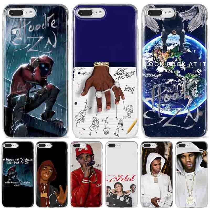 Um boogie sagacidade da hoodie com capuz szn álbum caso de telefone para iphone x 7 plus xs silicone telefone capa para iphone 6 s 8 plus xs max casos