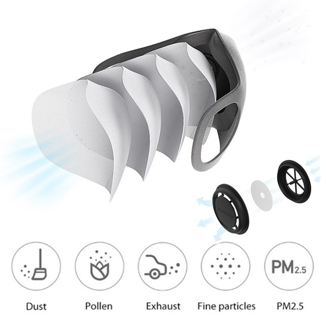 Xiaomi ZHIMI Filter Mask Block PM 2.5 Ventilating Valve Dustproof Anti-haze Comfortable Protective Mask Xiami Xiomi Face Masks 1