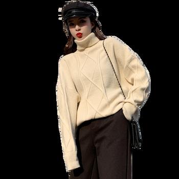 Spring Knitted Sweater Women Solid Befree Harajuku Pullover Elegant Sueter Mujer Turtleneck Truien Dames Korean Autumn Coat футболка befree befree be031ewadok9