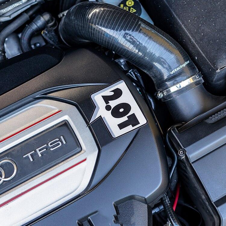 2 шт., автомобильные виниловые наклейки для мотоцикла 2,0 4,4 T