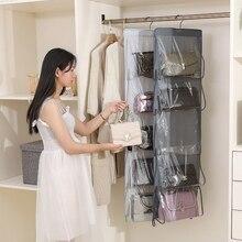 WomenS Bag Hanging Storage Organizer Dustproof Stereo Washable Wardrobe Oxford Cloth  Organizador