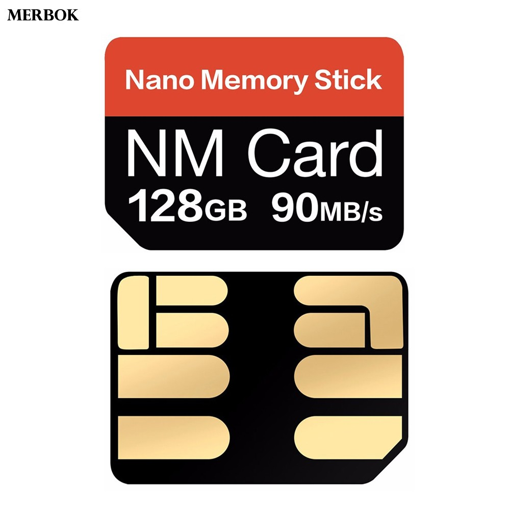 For Huawei P30 P 30 Pro P30Pro VOG-L09 NM Card Nano Memory Card 128GB 90MB/S NM-Card With USB3.1 Gen 1 Type-C TF/NM Card Reader
