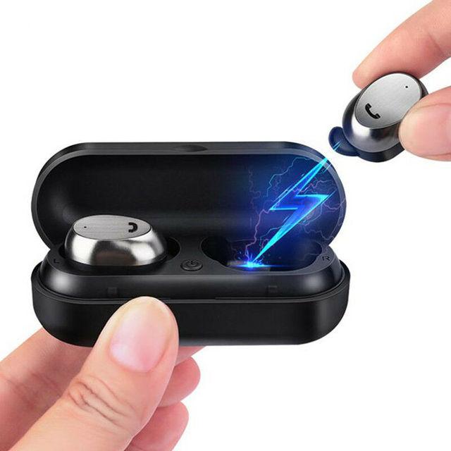 M9 TWS Mini prawdziwe bezprzewodowe wkładki douszne zestaw słuchawkowy dla aktywnych słuchawek Bluetooth z etui z funkcją ładowania słuchawki douszne Stereo Dual