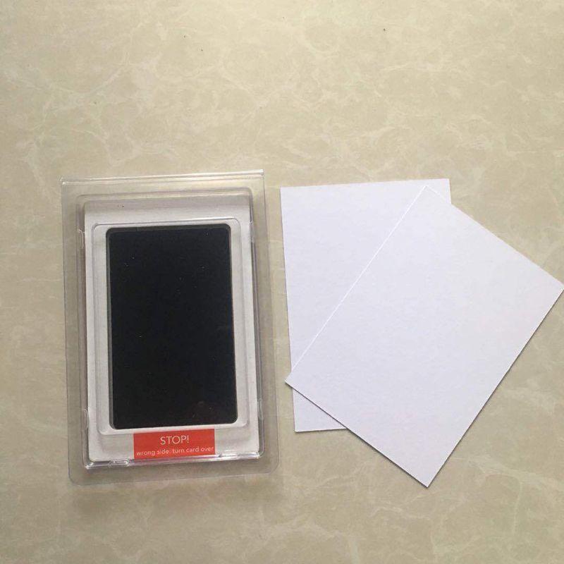Ink Pad Kits for Newborn Baby Footprint Handprint Easy to Wipe Long Lasting Keepsakes
